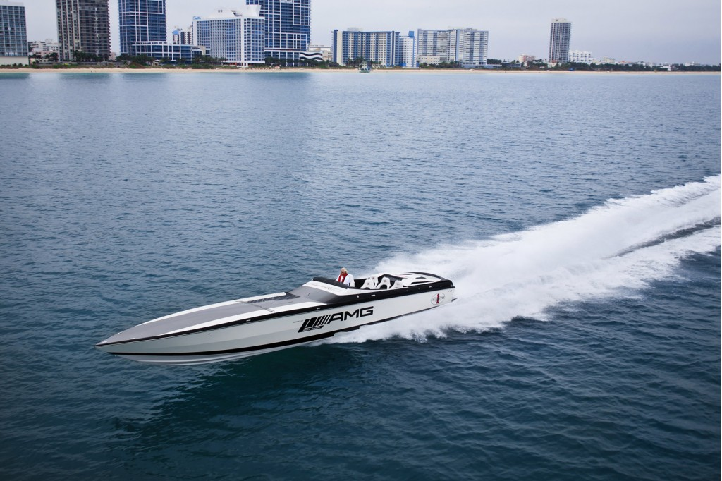 Cigarette Mercedes AMG Electric Drive Sports Yacht