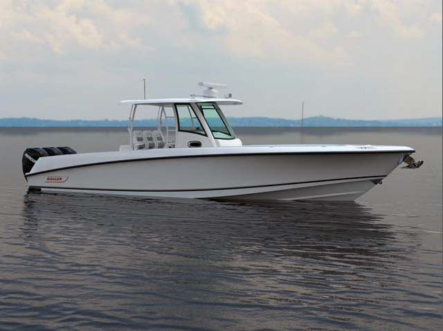 Boston Whaler 350 Outrage center console