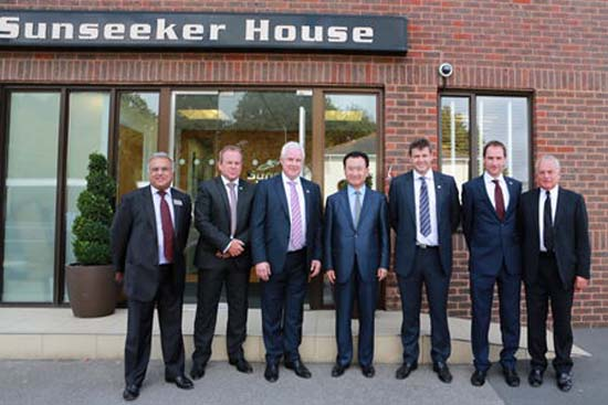 Sunseeker and Dalian Wanda Group